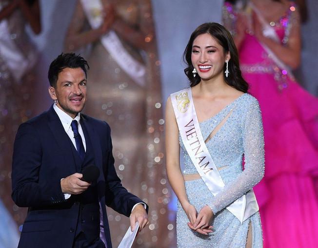 Lương Thùy Linh Top 12 Hoa hậu Thế giới 2019.