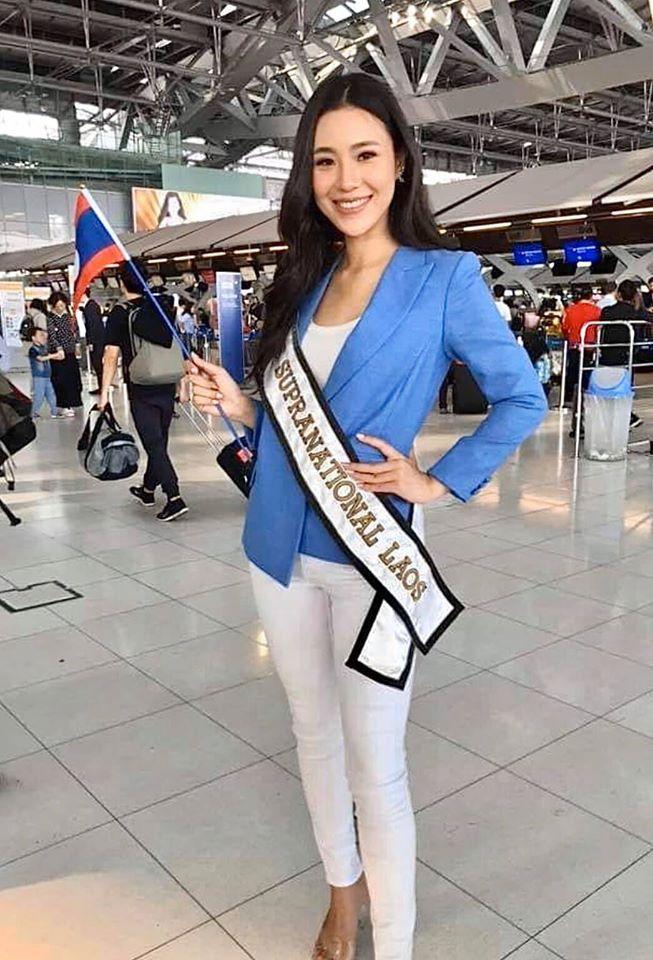 Hoa hậu Lào.