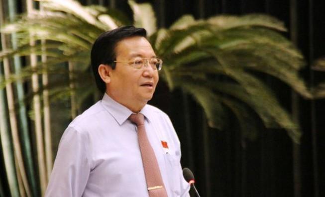 Giám đốc Sở GD&ĐT TP.HCM Lê Hồng Sơn. Ảnh: TÁ LÂM