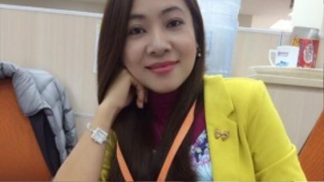 Cô giáo Nguyễn Thị Hoàn hiện giảng dạy bộ môn Ngữ Văn tại Trường THPT Mỏ Trạng. Ảnh: Nhân vật cung cấp.