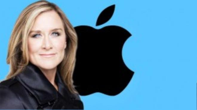 """Angela Ahrendts, phó Chủ tịch Apple, nói: """"Mọi người đều cho rằng phải xây dựng mối quan hệ với khách hàng. Đối với tôi, việc đầu tiên là gây dựng mối quan hệ với chính nhân viên của bạn"""". Angela là người phụ nữ kiếm được nhiều tiền còn hơn cả CEO Tim Cook."""
