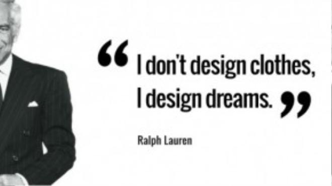 """Ông chủ của hãng thời trang cao cấp mang tên mình Ralph Laurens nổi tiếng với câu nói: """"Tôi không thiết kế quần áo. Tôi thiết kế ra những giấc mơ"""". Ông từng trải qua một cuộc phẫu thuật u não."""