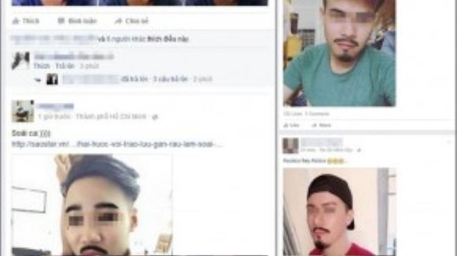 """Trào lưu soái ca đang """"xâm chiếm"""" khắp nơi trên Facebook."""