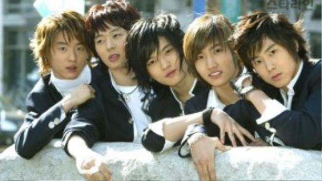 Junsu thời gian còn trong nhóm nhạc huyền thoại DBSK
