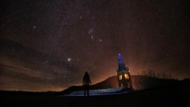 Mưa sao băng hôm 12/12 tại đồi Elva, thung lũng Maira gần Cuneo, phía bắc nước Ý/