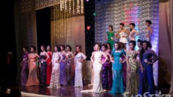 24 thí sinh xuất hiện trong đêm chung kết.