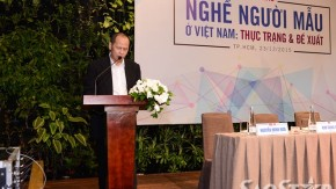Ông Nguyễn Quang Minh – Chủ tịch Hội người mẫu Việt Nam.
