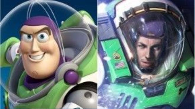 """Có lẽ """"điểm sáng"""" duy nhất của danh sách này chính là Buzz Lightyear (Toy Story) luôn rất hào hoa phong độ, dù cho ở trên phim hay ngoài đời."""