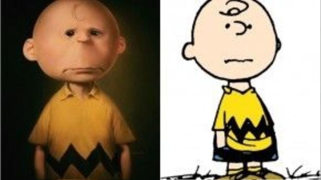 Charlie Brown (Snoopy) ngoài đời là một chú bé sầu muộn với khuôn mặt kì dị, già trước tuổi.
