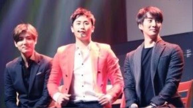 SS301 - Kim Kyu Jong, Heo Young Saeng, Kim Hyung Joon.