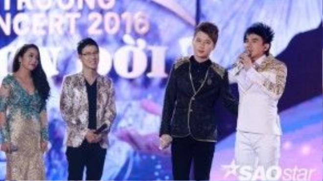 """Hoàng Thịnh - thí sinh """"Ca sĩ giấu mặt"""" - bày tỏ anh là fan của Đan Trường và đã tập hát giống thần tượng của mình từ rất lâu."""