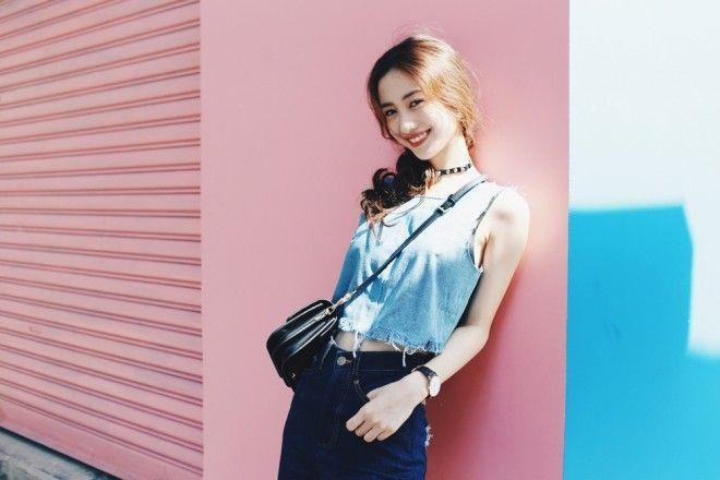 Jun Vũ đẹp tinh khôi giữa lòng thành phố Sài Gòn ảnh 1