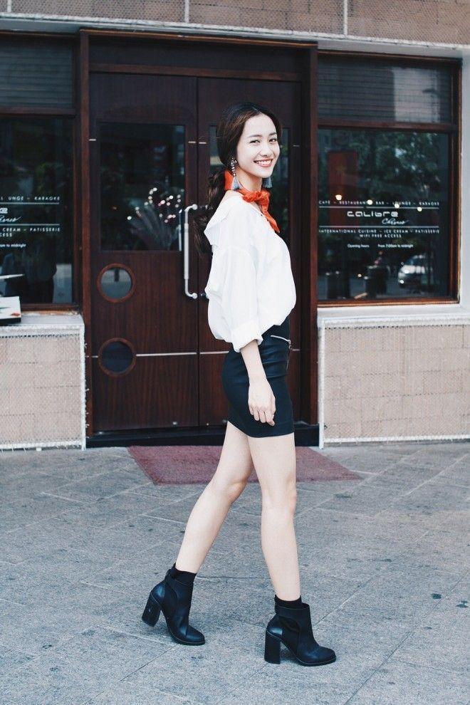 Jun Vũ đẹp tinh khôi giữa lòng thành phố Sài Gòn ảnh 8
