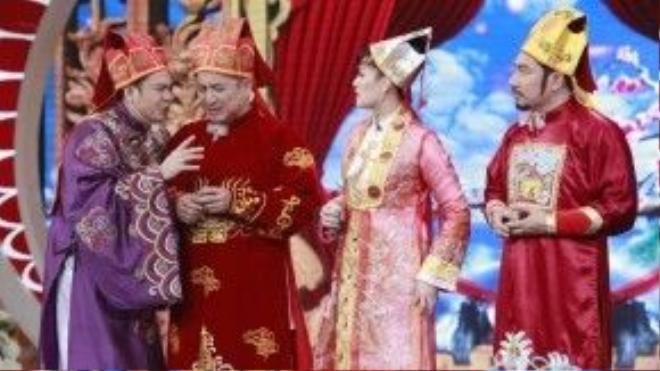 Phần âm nhạc của Táo quân luôn là điểm được nhiều khán giả chờ đợi và yêu thích.