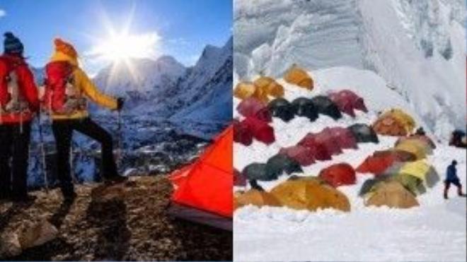 Dãy Himalaya: Nóc nhà thế giới tưởng chừng sẽ là nơi khiến mỗi nhà chinh phục độ cao cảm thấy bé nhỏ trước thiên nhiên, nhưng có lẽ họ sẽ không cô đơn giữa không gian hùng vĩ này.