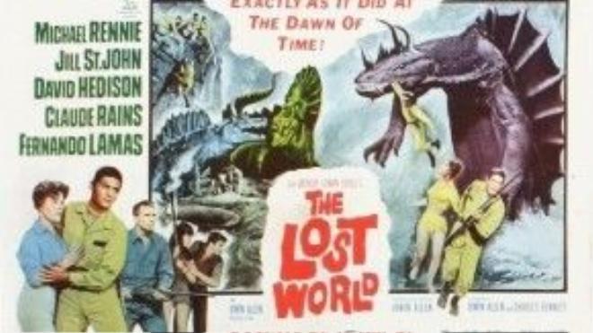 The Lost World - bộ phim tạo tiền đề cho sự ra đời của King Kong.
