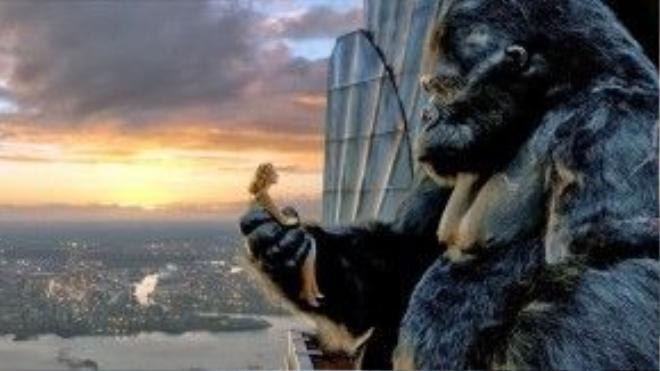 King Kong là con khỉ đột già nua và cô độc được soi rọi bởi thứ ánh sáng của tình yêu.