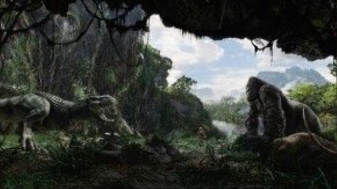 Quang cảnh trên đảo Skull.