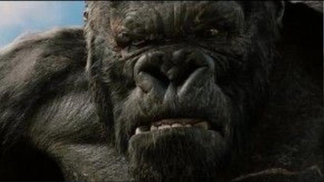 Chân dung Kong - vị vua đảo Skull.