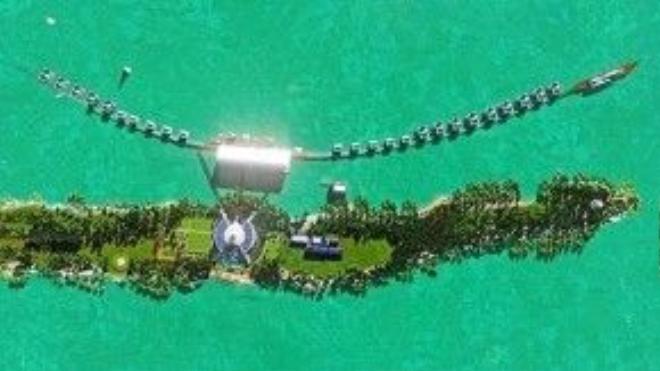"""Dự ánvới tên gọi """"Blackadore Caye, a Restorative Island"""" (""""Blackadore Caye, Đảo Hồi Sinh"""")của nam diễn viên """"Titanic"""" dự kiến sẽ mở cửa đón du khách vào năm 2018."""