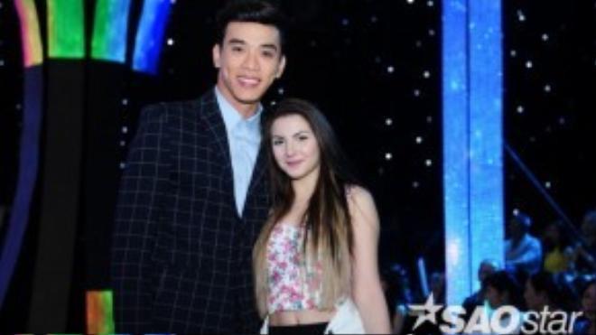 Thuận Nguyễn cùng bạn nhảy của Minh Trung.