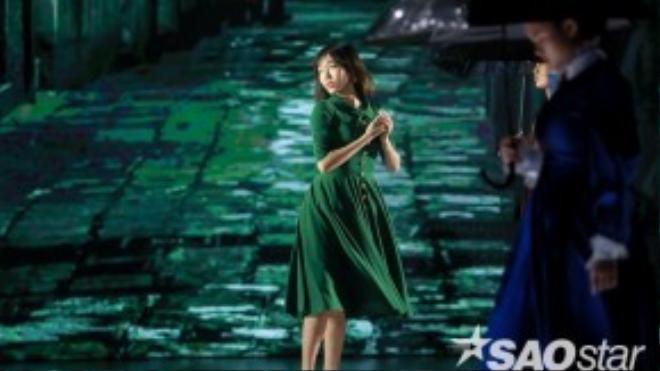 Diệu Nhi sẽ thể hiện điệu nhảy Rumba kết hợp với múa đương đại trong tiết mục Cuộc sống tươi đẹp, tái hiện hình ảnh cô ca sĩ Edith Piaf trong bộ phim Lavie en rose.
