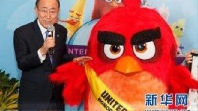 Sứ mệnh của Angry Bird là cổ vũ các bạn trẻ cùng hành động vì thế giới hạnh phúc và phát triển bền vững.