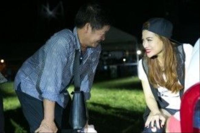Bố Trọng Hiếu hỏi thăm Trương Ngọc Ánh về sức khỏe.