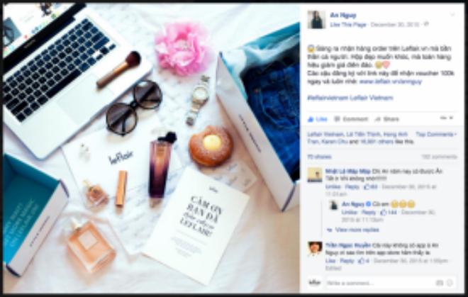 Cô nàng hot vlogger nổi tiếng nhất cộng đồng mạng chia sẻ lên trang cá nhân tấm hình flatlay vô cùng đẹp. Cô bạn tỏ ra khá bất ngờ và hài lòng khi nhận món hàng mà mình đã săn được.