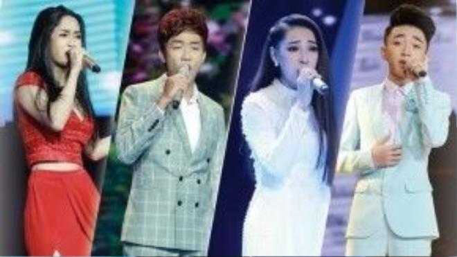 Top 4 Thần tượng Bolero: Phương Anh, Đình Phước, Cao Công Nghĩa, Trung Quang