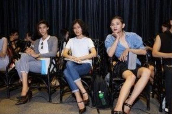 3 chàng mẫu unisex tham sự casting tại show thời trang của Adrian Anh Tuấn.