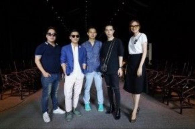 Những nhân vật quyền lực của buổi casting: Tùng Leo - Adrian Anh Tuấn - Sơn Đoàn - Kelbin Lei - Diễm Hương.