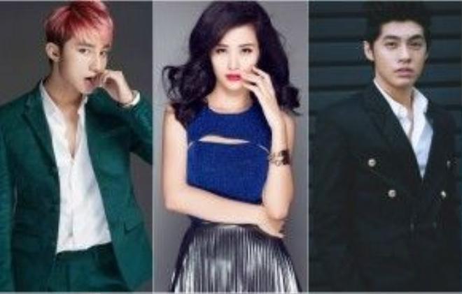 Bộ 3 ca sĩ trẻ hot nhất ở thời điểm hiện tại.