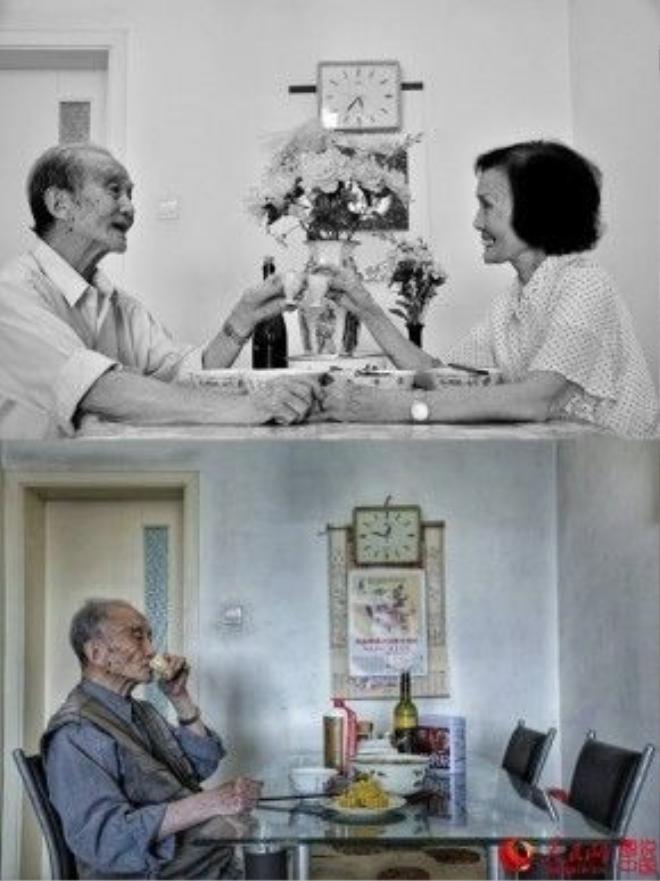 Và chiếc bàn ăn cũng vậy. Đâu rồi những khoảnh khắc ấm áp, bốn mắt nhìn nhau chứa chan hạnh phúc?