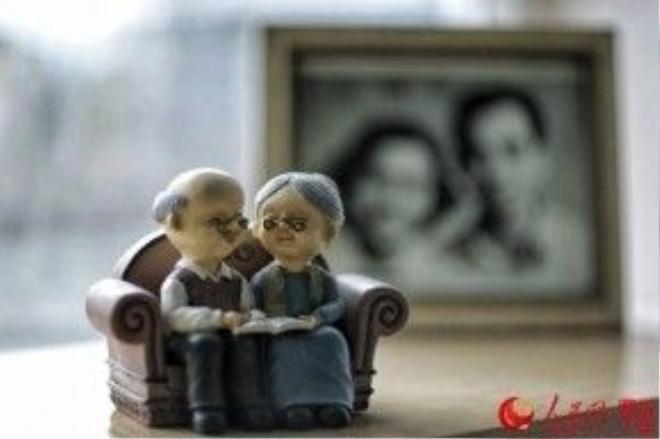 Cặp tình nhân ấy đúng là biểu tượng sống của một tình yêu vĩnh cửu!