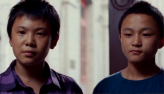 Cheng (bên trái) và Liang (bên phải) là bạn học cùng trường với Dre