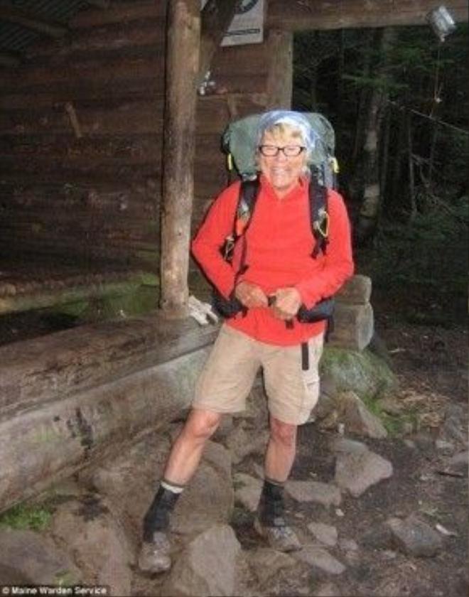 Bà Geraldine Largay xấu số bị mất tích từ tháng 7/2013.