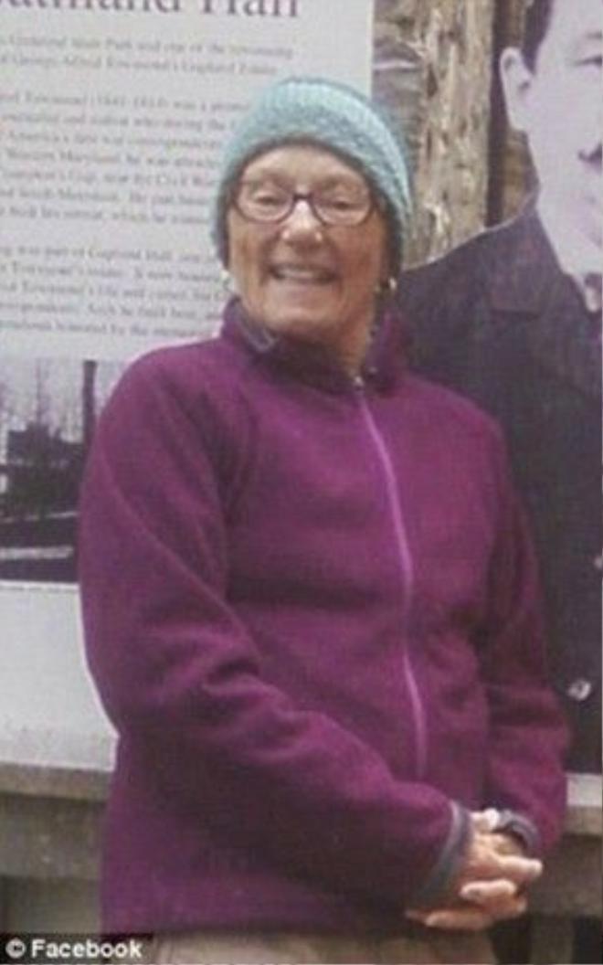 Bà Geraldine Largay đã cố gắng tìm cách liên lạc trongvô vọng