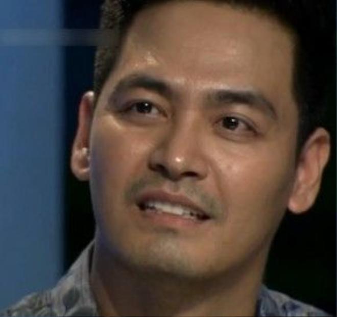 Hình ảnh MC Phan Anh trong chương trình được nhiều người chia sẻ. Ảnh: chụp màn hình
