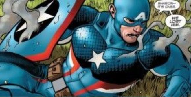 Biểu tượng của cả một dân tộc và một đất nước - Captain America.