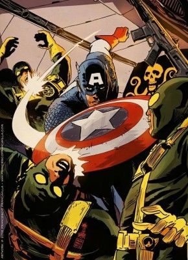 Nếu Captain America thực sự thuộc về Hydra thì mục đích ẩn danh thực sự của anh là gì?
