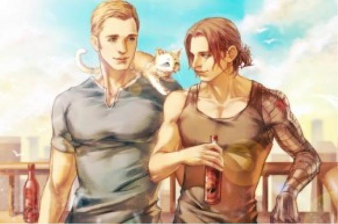Thôi thì Marvel nên kết duyên gấp cho Steve và Bucky đi thôi kẻo lỡ!