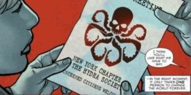 Hydra, tổ chức Phát Xít đối địch mà Captain cùng đồng đội đã chiến đấu bao năm qua.