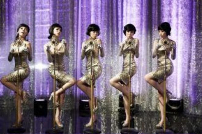 Wonder Girls trong bản hit đình đám Nobody.
