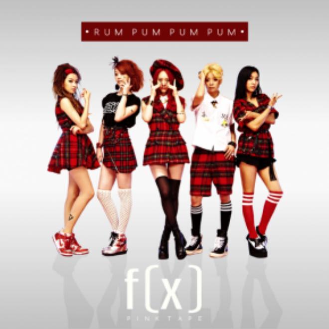 Tạo hình nhí nhảnh của f(x) trong Rum Pum Pum Pum.