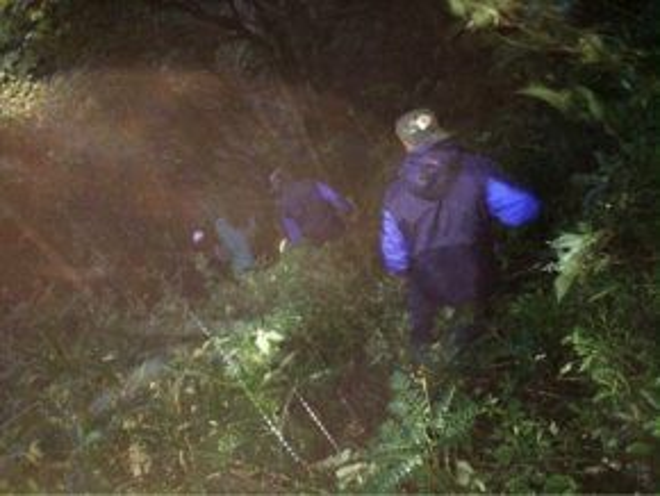 Đoàn cứu hộ băng rừng, lần tìm dấu vết du khách người Anh