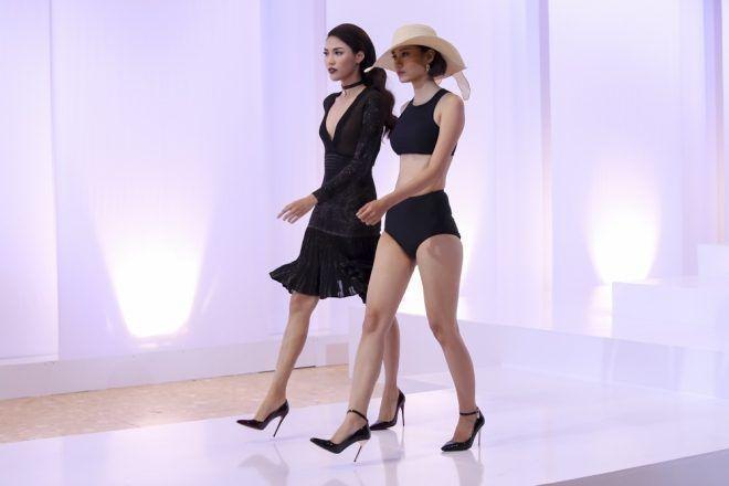 Sở hữu các bước đi catwalk đúng chuẩn qua bài tập của bộ 3 HLV The Face ảnh 9