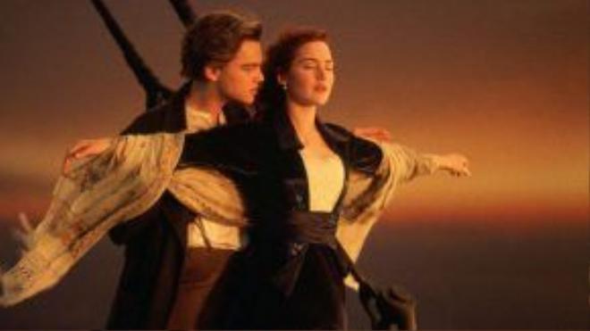 """Cảnh phim trở thành """"huyền thoại"""" của """"Titanic""""."""