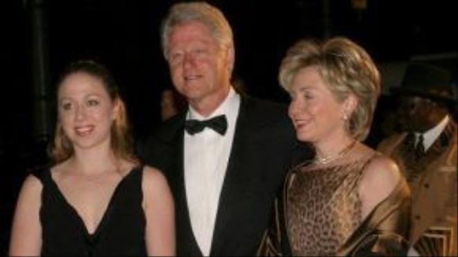 Gia đình bà Hillary Clinton