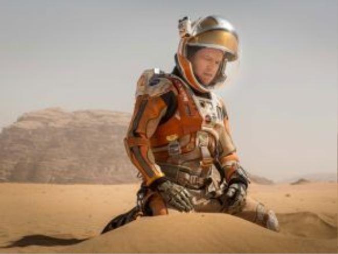 Matt Damon vừa lọt vào bảng đề cử Oscar vào đầu năm 2016.